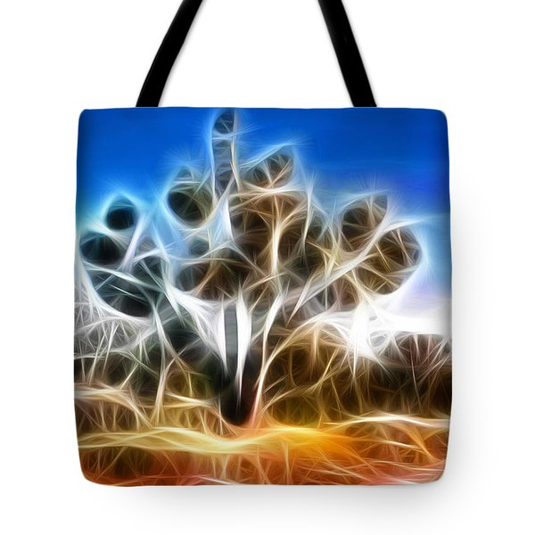 Joshua Tree Tote Bag by Methune Hively