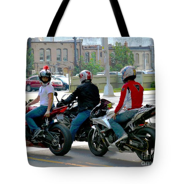 Joy Ride Tote Bag
