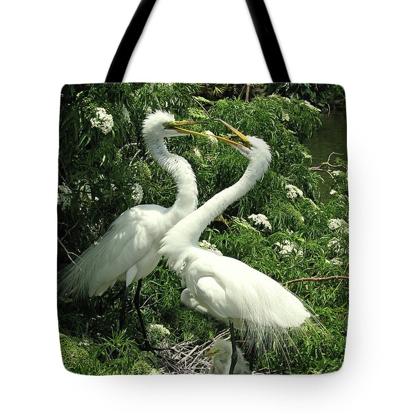 Joyful Reunion Tote Bag