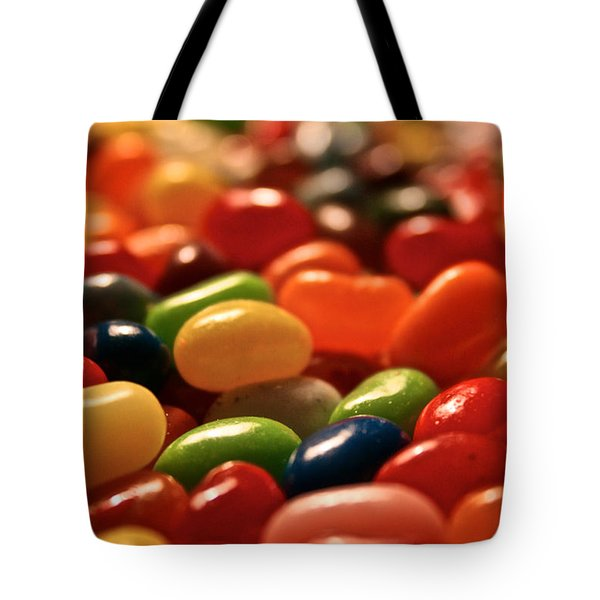 Jubilant Jelly Beans Tote Bag by Susan Herber