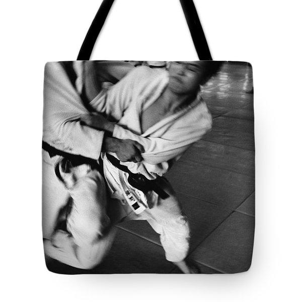 Judo Tote Bag by Bernard Wolff