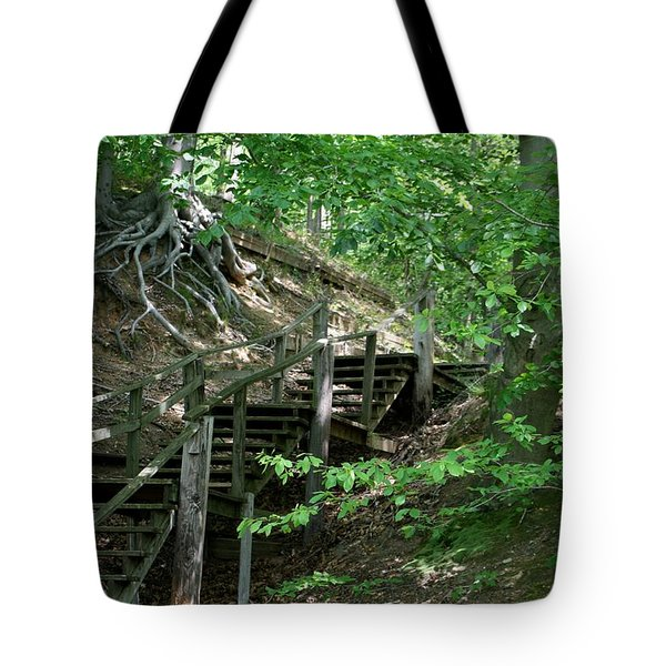 Jug Bay Secrets Tote Bag by Valia Bradshaw