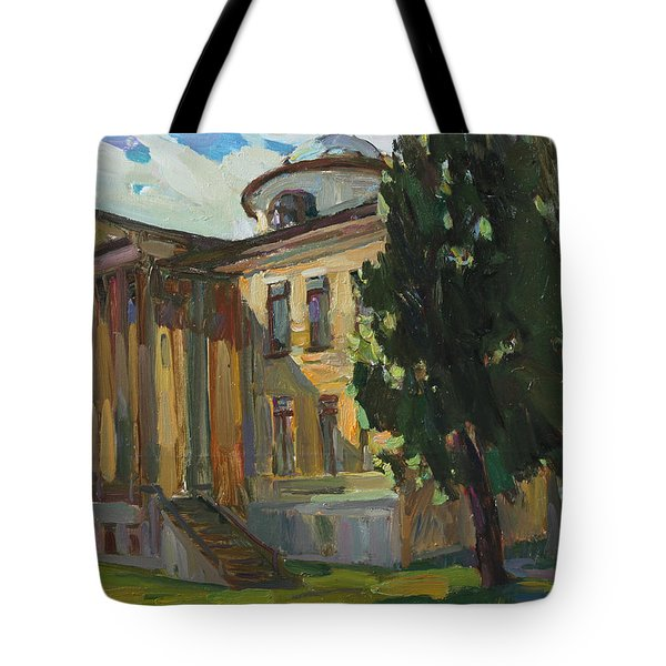 July Day In Russian Estate Tote Bag