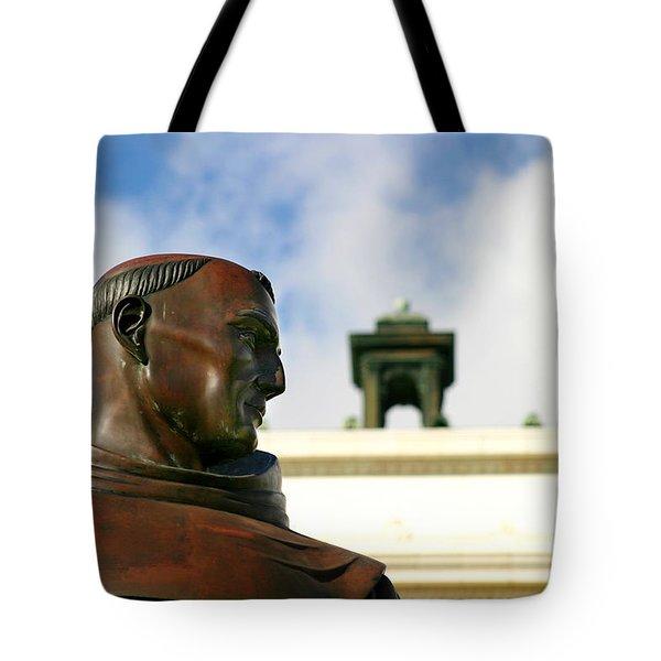 Junipero Serra Tote Bag