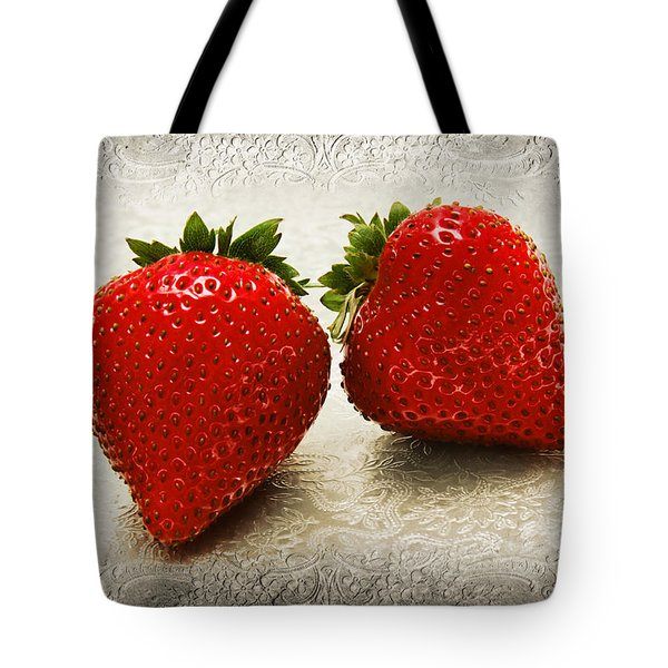 Just 2 Classic Berries Tote Bag by Andee Design