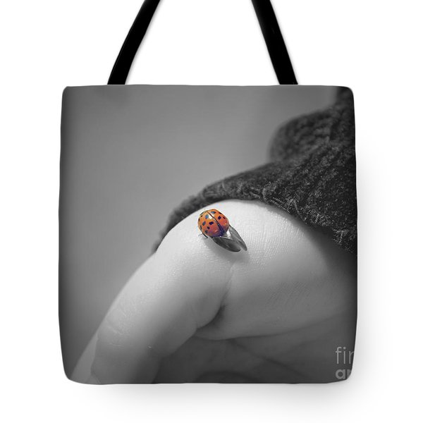 Just For A Moment Tote Bag by Aimelle