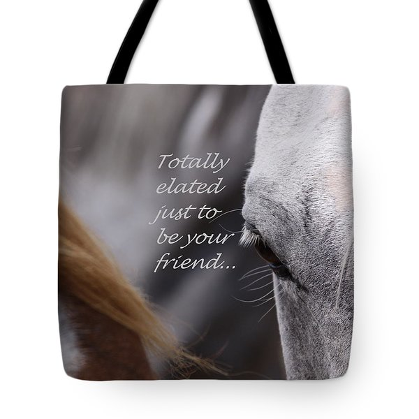 Just Friends Tote Bag by Travis Truelove