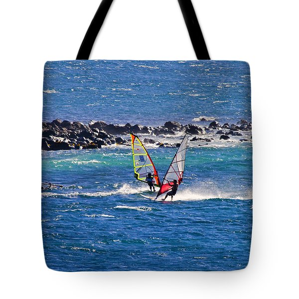 Just Passing By Tote Bag by Mike  Dawson