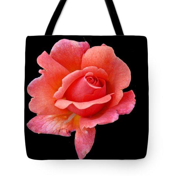 Just Peachy Tote Bag by Cindy Manero