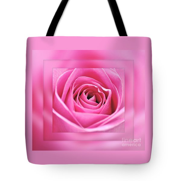 Just Pink Tote Bag by Kaye Menner