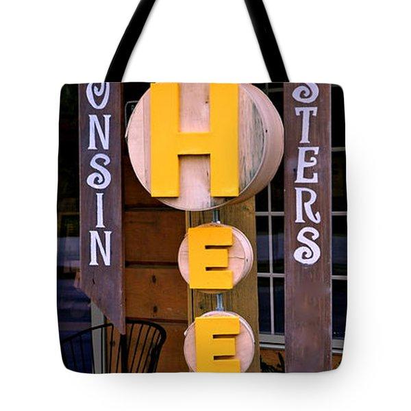 Just Say Cheese Tote Bag