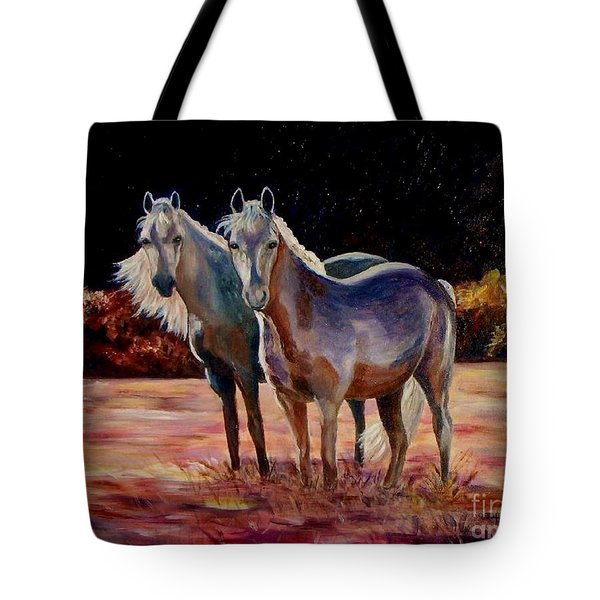 Just Who Are You Tote Bag by Julie Brugh Riffey