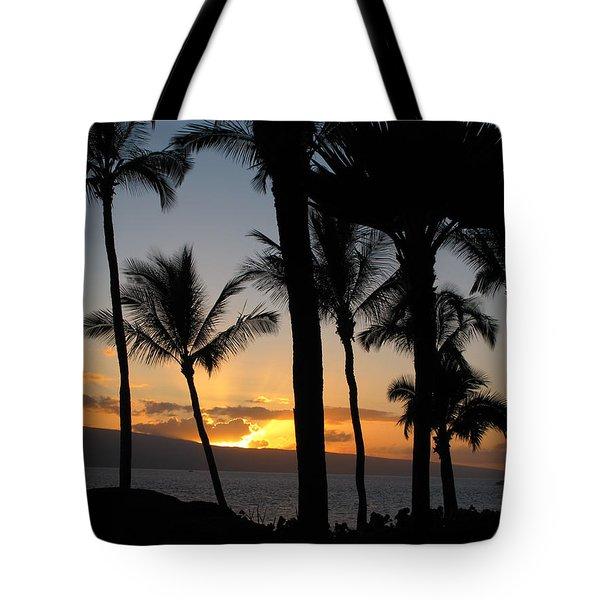 Ka'anapali Sunset Tote Bag