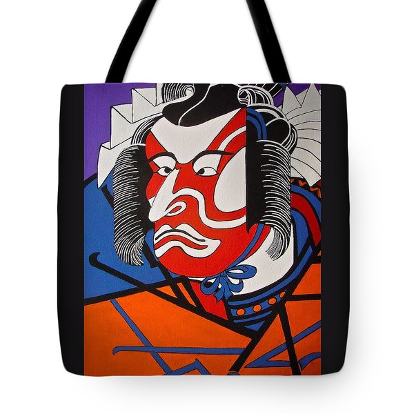 Kabuki Actor 2 Tote Bag by Stephanie Moore