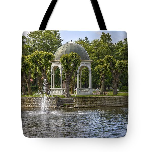 Kadriorg Park 2 Tote Bag by Clare Bambers