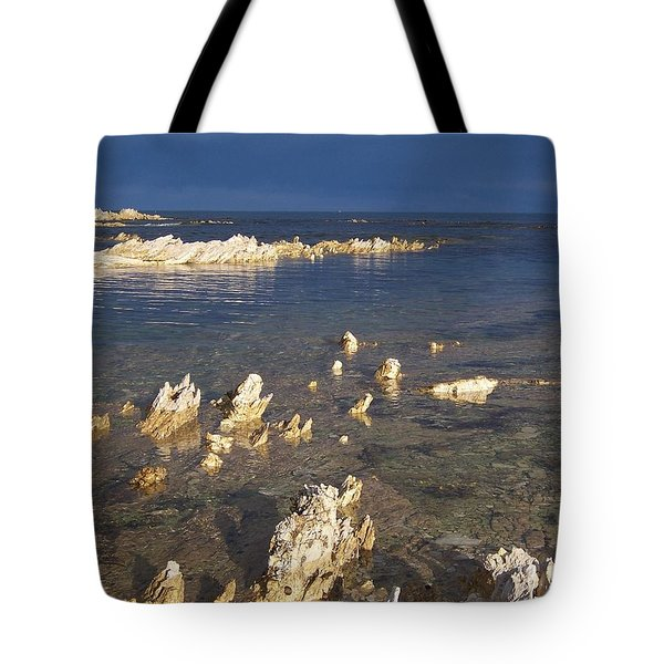 Tote Bag featuring the photograph Kaikoura Coast by Peter Mooyman