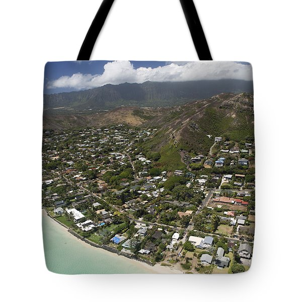 Kailua Aerial Tote Bag by Peter French