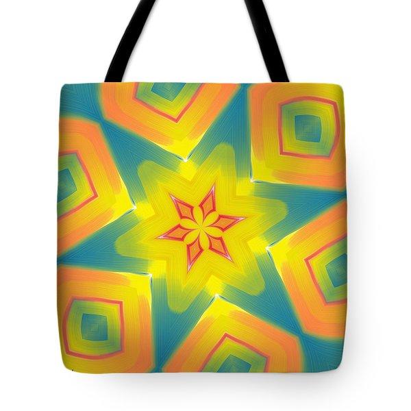 Kaleidoscope Series Number 8 Tote Bag by Alec Drake
