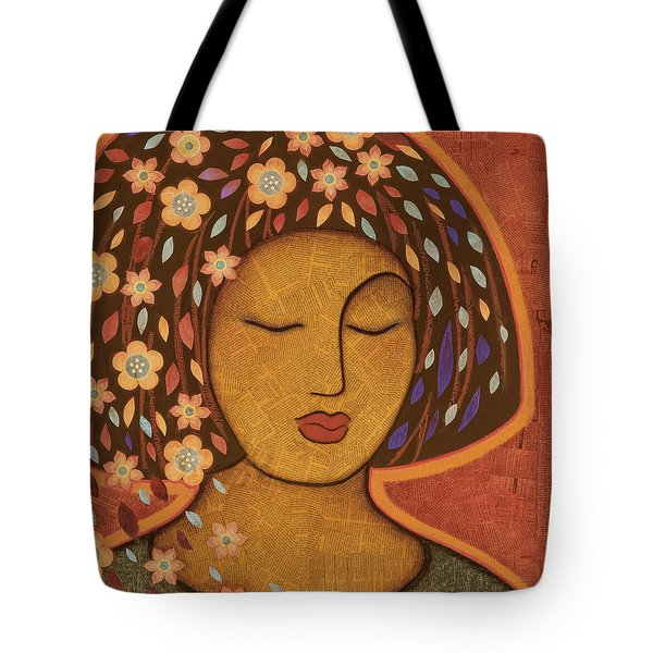 Tote Bag featuring the painting Kali by Gloria Rothrock