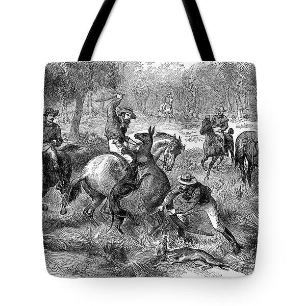 Kangaroo Hunting, 1876 Tote Bag by Granger