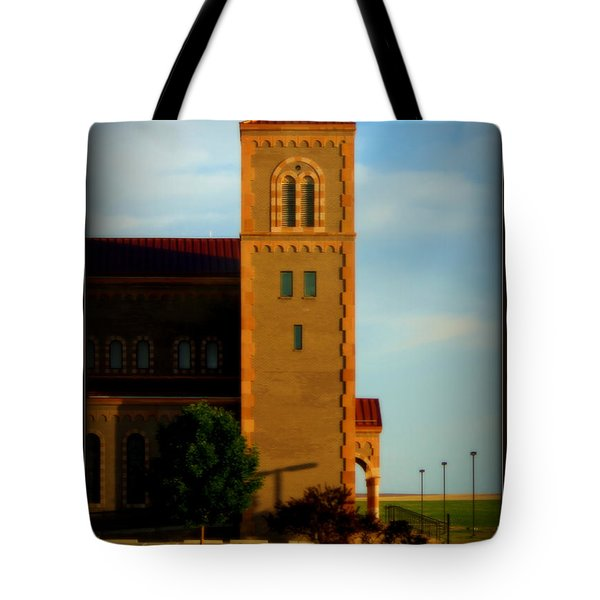Kansas Architecture Tote Bag by Jeanette C Landstrom