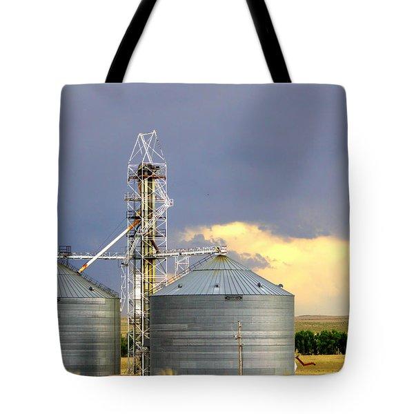 Kansas Farm Tote Bag by Jeanette C Landstrom