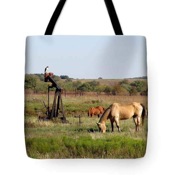 Kansas Tableaux Tote Bag
