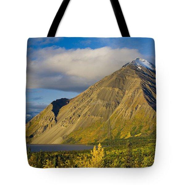 Kathleen Lake, Kluane National Park Tote Bag by John Sylvester