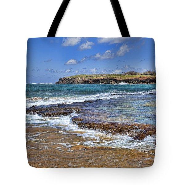 Kauai Beach 2 Tote Bag by Kelley King