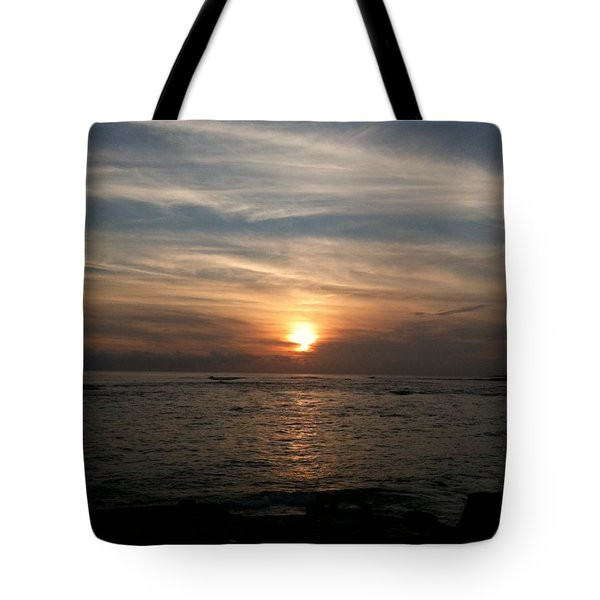 Tote Bag featuring the photograph Kauai Sunset by Carol Sweetwood