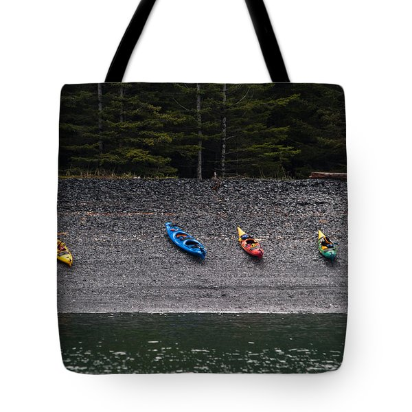 Kayak Shore Tote Bag