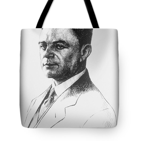Kazimierz Funk, Polish-american Tote Bag by Science Source