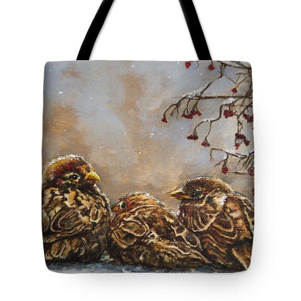 Keeping Company Tote Bag