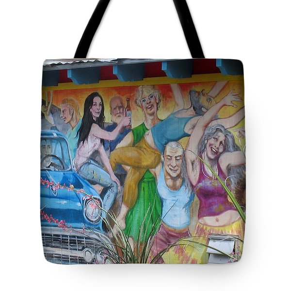 Keeping It Weird In Austin Tote Bag by Patti Whitten