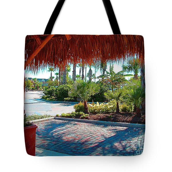 Kemah Boardwalk Tote Bag by Fred Jinkins