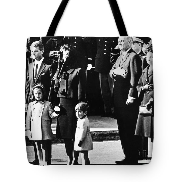 Kennedy Funeral, 1963 Tote Bag by Granger