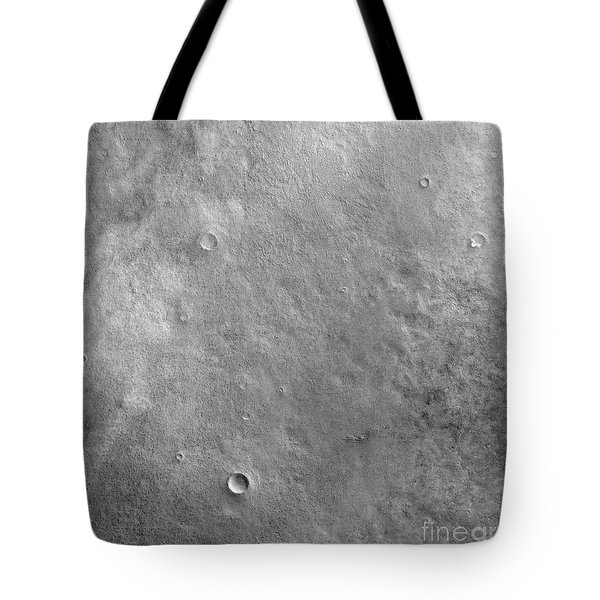 Kepler Crater On The Surface Of Mars Tote Bag by Stocktrek Images