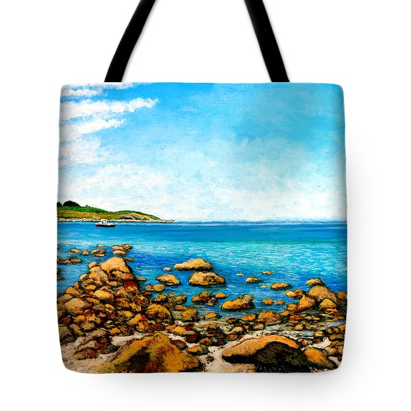 Kettle Cove Tote Bag by Tom Roderick