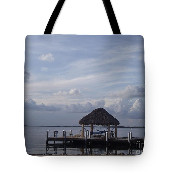 Key Largo Retreat Tote Bag