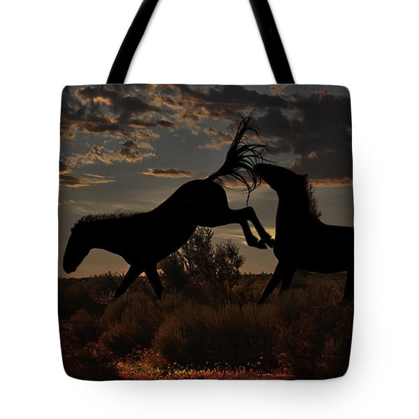 Tote Bag featuring the photograph Kick by Tammy Espino