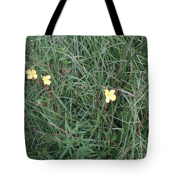 Kiiroi Hana Tote Bag by George Pedro