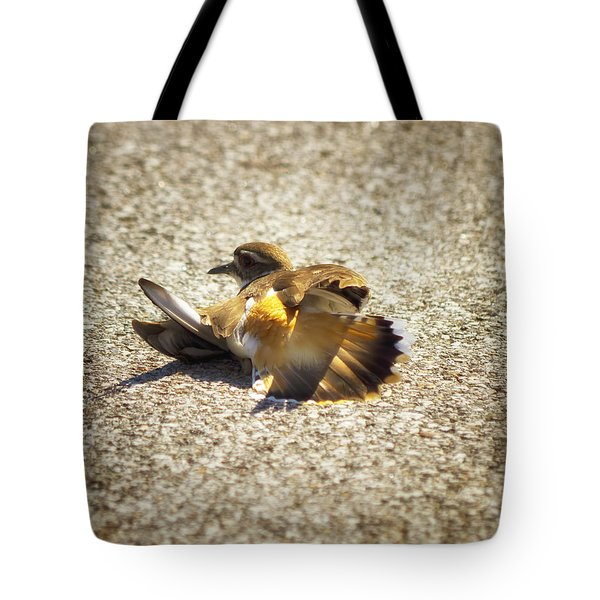 Killdeer Broken Wing Act Tote Bag