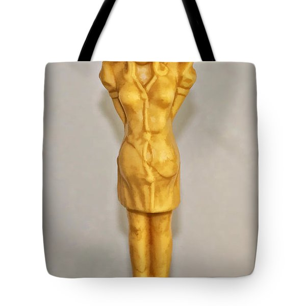 Kilroy Was Here Tote Bag by Kathleen K Parker