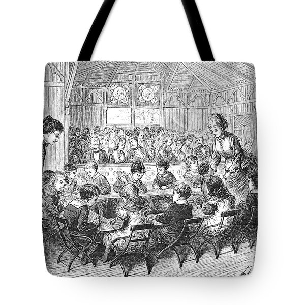 Kindergarten, 1876 Tote Bag by Granger