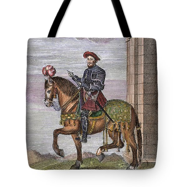 King Francis I (1494-1547) Tote Bag by Granger