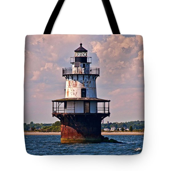 Tote Bag featuring the photograph King Of The Bay by Nancy De Flon
