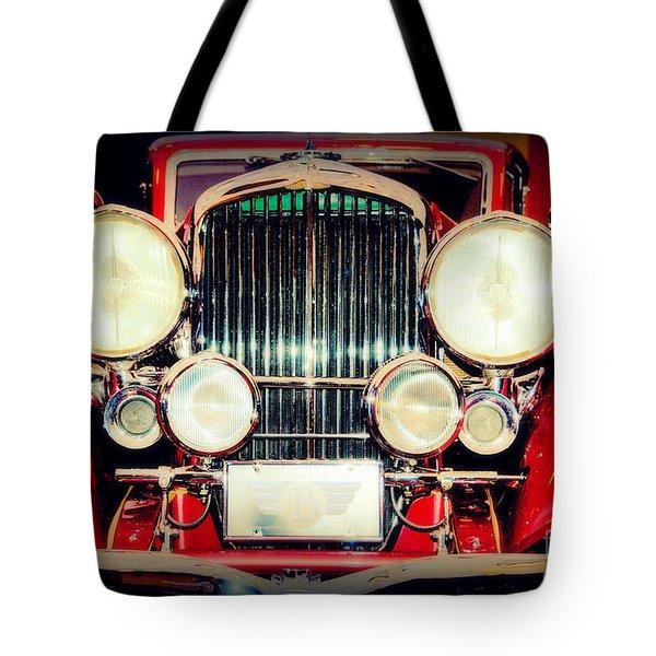 King Of The Road Tote Bag by Susanne Van Hulst
