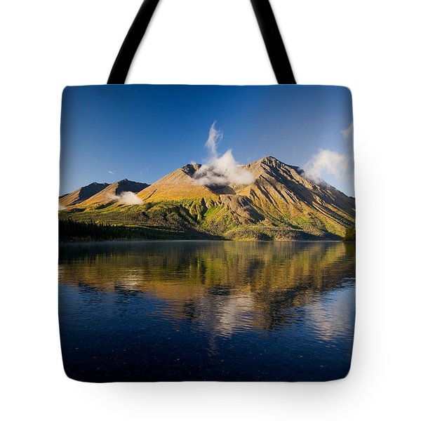 Kings Throne Mountain And Kathleen Tote Bag by John Sylvester