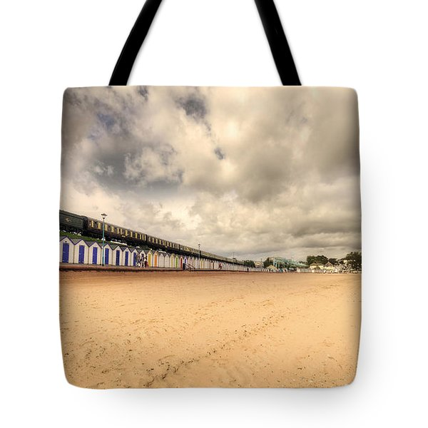 Kinlet Hall At Goodrington Sands Tote Bag by Rob Hawkins
