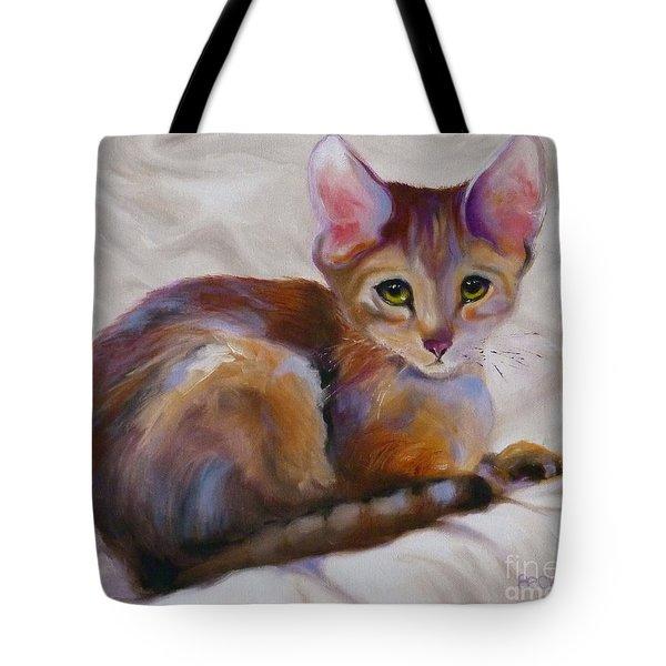 Kitten Princess Tote Bag